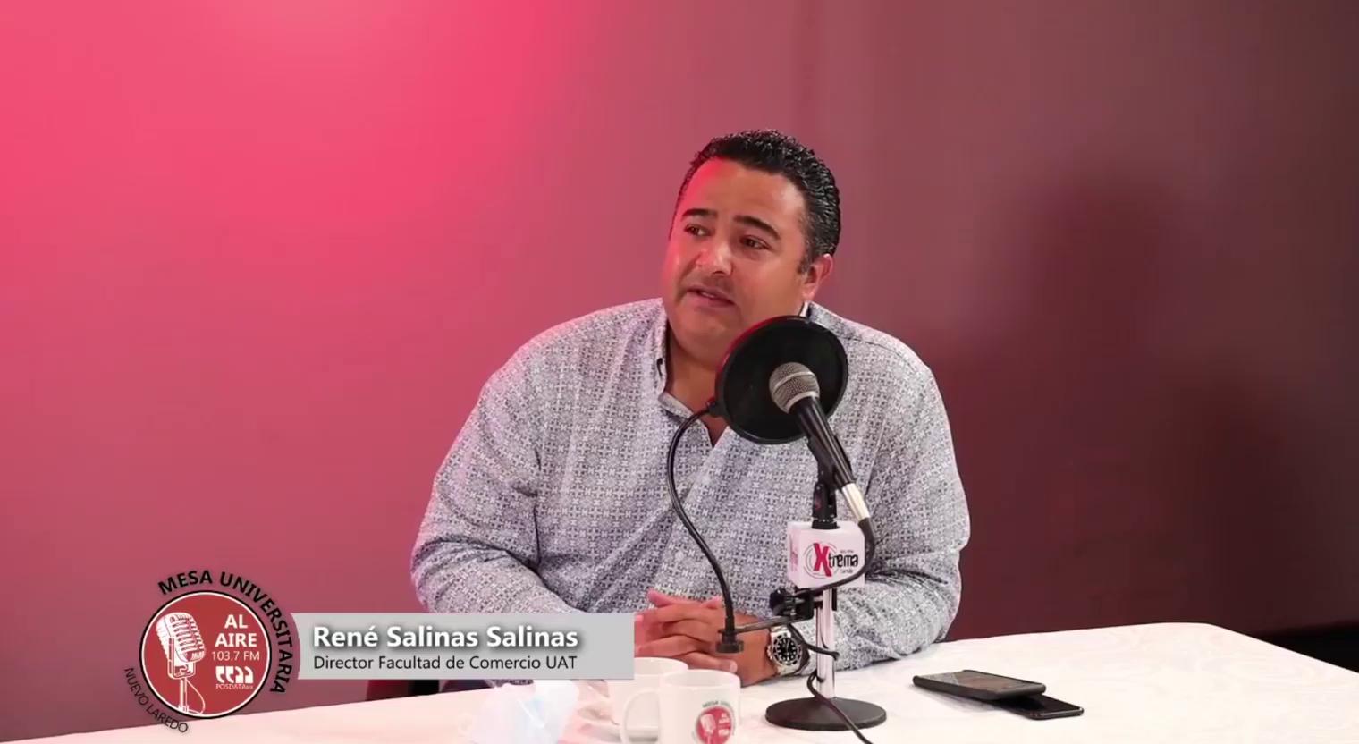 Rene Salinas Salinas - Director Facultad de Comercio UAT