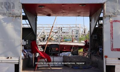 Afectaciones al circo Atayde por la tromba - PosdataMx